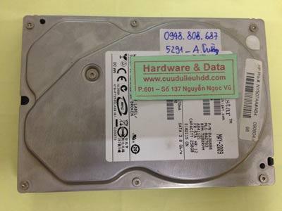 Khôi phục dữ liệu ổ cứng Hitachi 250GB lỗi đầu đọc