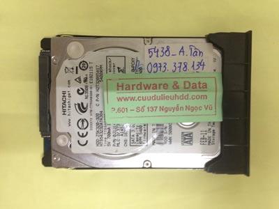 Lấy lại dữ liệu ổ cứng Hitachi 320GB đầu từ lỗi