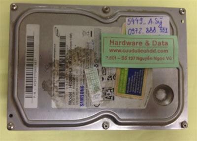 Cứu dữ liệu ổ cứng Samsung 250GB
