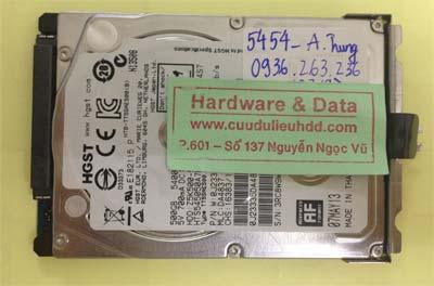 Lấy lại dữ liệu ổ cứng Hitachi 500GB