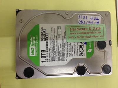 Phục hồi dữ liệu ổ cứng Western 1TB đầu từ lỗi