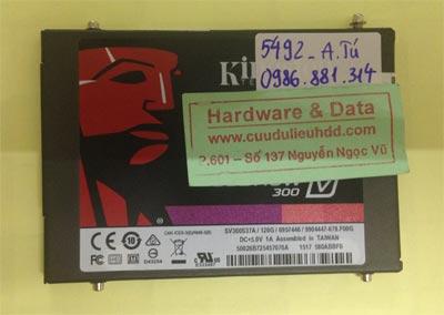 Phục hồi dữ liệu ổ cứng Kingston 120GB Bad Sector