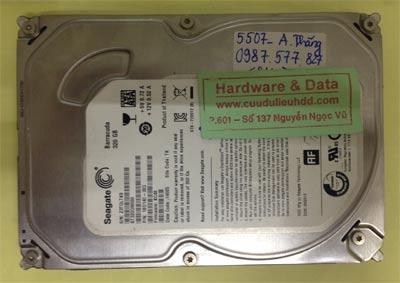 Khôi phục dữ liệu ổ cứng Seagate 320GB