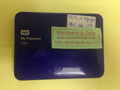 Cứu dữu liệu ổ cứng di động Western