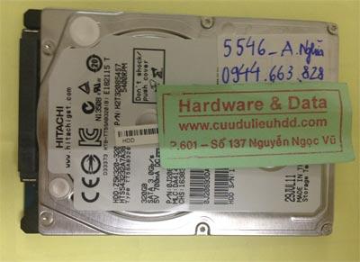 Phục hồi dữ liệu ổ cứng Hitachi 320GB