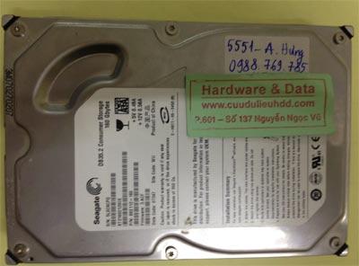 Lấy lại dữ liệu ổ cứng Seagate 160GB