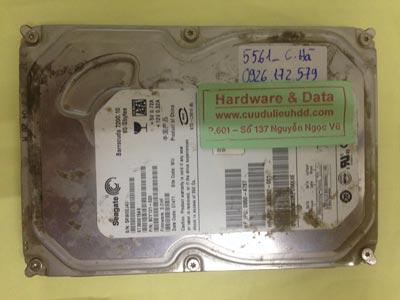 Cứu dữ liệu ổ cứng Seagate 80GB chết cơ