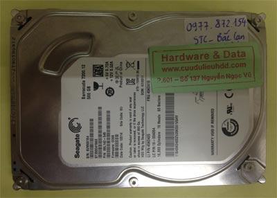 Cứu dữ liệu ổ cứng Seagate 500GB chết cơ