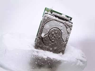 cách xử lý ổ cứng bị nước vào