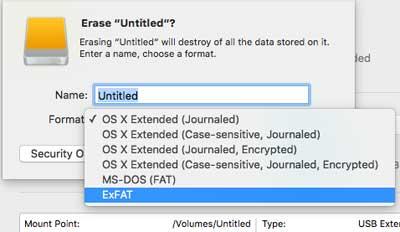 format ổ cứng gắn ngoài trên Windows và Mac