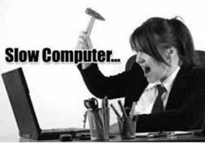 lý do máy tính chạy chậm