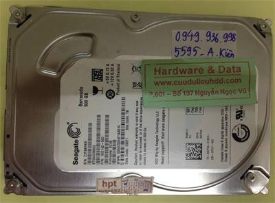 Cứu dữ liệu ổ cứng Seagate 500GB