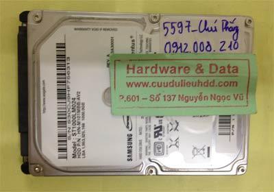 Phục hồi dữ liệu ổ cứng Seagate 1TB