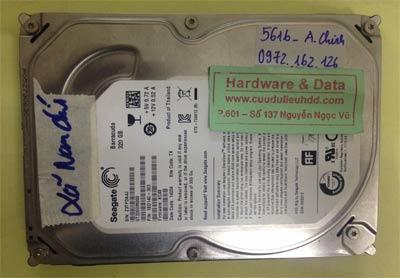 Lấy lại dữ liệu ổ cứng Seagate 320GB