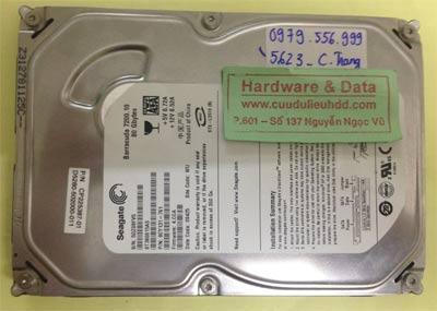 Lấy dữ liệu ổ cứng Seagate 80GB