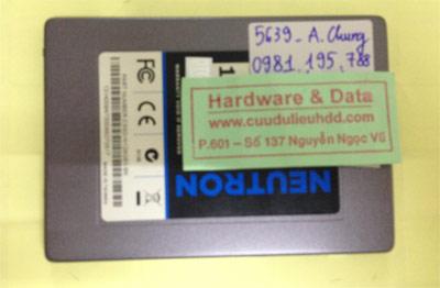 Lấy dữ liệu ổ cứng SSD 120GB bị lỗi