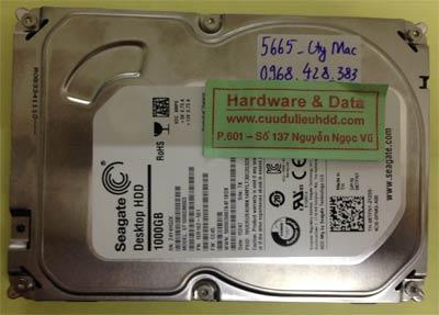 Lấy dữ liệu ổ cứng Seagate 1TB
