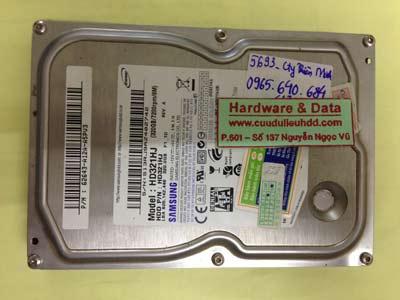 Khôi phục dữ liệu ổ cứng Samsung 320GB