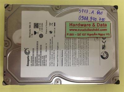 Cứu dữ liệu ổ cứng Seagate 1TB