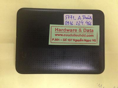 Khôi phục dữ liệu Box Western 500GB