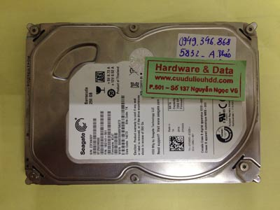 Lấy lại dữ liệu ổ cứng Seagate 250GB