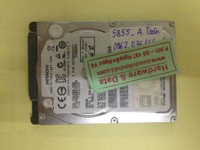 Phục hồi dữ liệu ổ cứng Hitachi 500GB