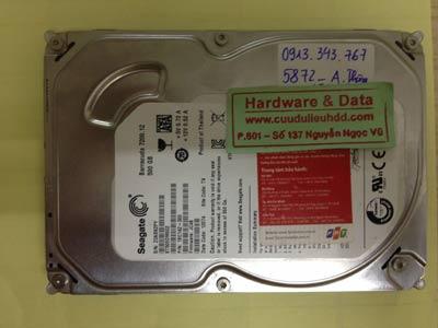 Lấy dữ liệu ổ cứng Seagate 500GB