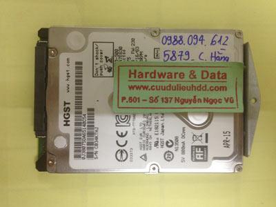 Phục hồi dữ liệu ổ cứng Samsung 250GB