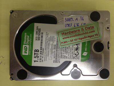 Khôi phục dữ liệu ổ cứng Western 1,5TB
