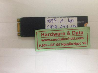 Cứu dữ liệu ổ cứng SSD 256GB