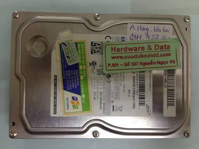 Khôi phục dữ liệu ổ cứng Samsung 500GB