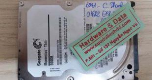 Khôi phục dữ liệu ST500LT01
