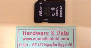 lấy dữ liệu thẻ nhớ 16GB