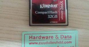 lấy lại dữ liệu thẻ 32GB