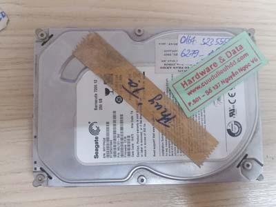 cứu dữ liệu Seagate 320GB