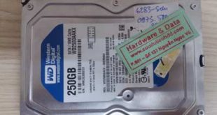 Phục hồi dữ liệu WD250GB