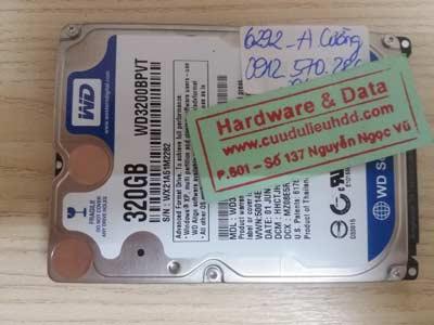 Lấy lại dữ liệu WD320GB