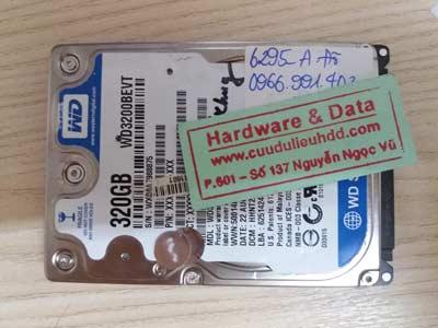 phục hồi dữ liệu WD320GB