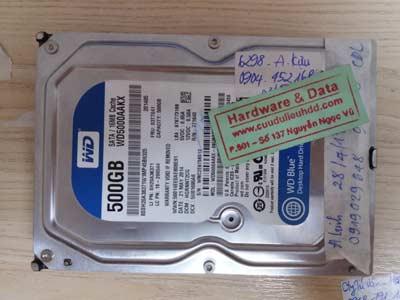 Phục hồi dữ liệu WD 500GB