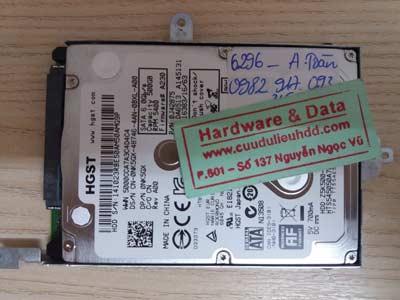 khôi phục dữ liệu Hitachi 500 GB