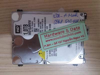 cứu data HDD Western 1TB