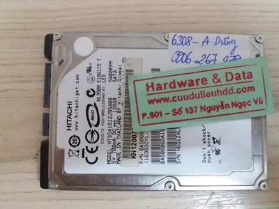 Phục hồi dữ liệu Hitachi 120GB