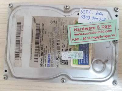 Recover dữ liệu HDD samsung 160KB