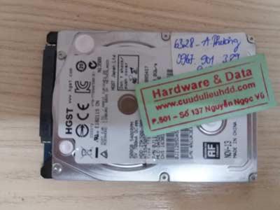Khôi phục data ổ cứng Hitachi