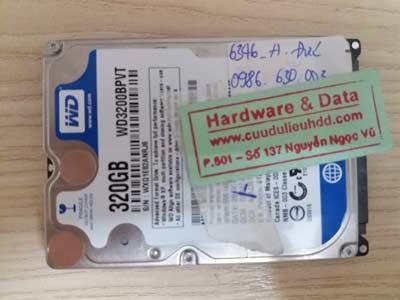 Lấy lại data-WD-320GB