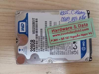 cứu dữ liệu-WD320GB