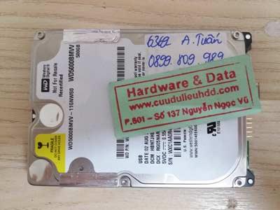 Phục hồi dữ liệu-WD500GB