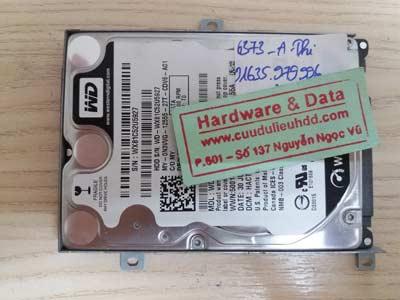 recover dữ liệu-WD500GB
