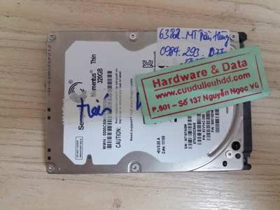 cứu data seagate 320 GB