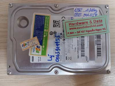 Recover dữ liệu Samsung 250GB